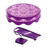Cuit chips Mastrad  violet 1 mandoline + 2 plateaux