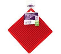 Manique Mastrad  carree en silicone rouge