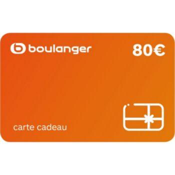 Boulanger 80 Euros