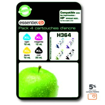 Essentielb H364 XL 4 couleurs Série pomme