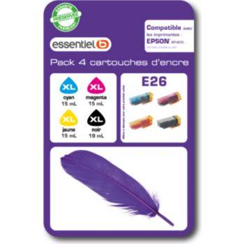 Essentielb E26XL Série Plume N/C/M/J