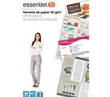 Papier ramette Essentielb  Papier 90g 500 feuilles