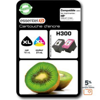 Essentielb Pack H300 XL Noir + Couleurs Série Kiwi