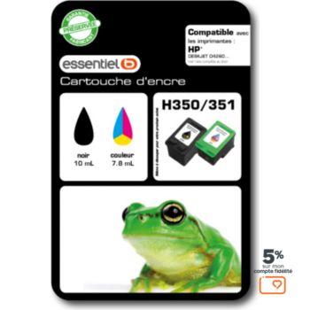 Essentielb H350/351 Noir+Couleurs Série Grenouille