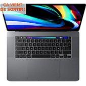 Ordinateur Apple Macbook CTO Pro 16' i7 2.6ghz 32go 512SSD Gris