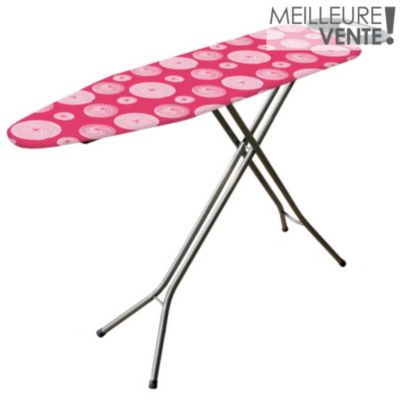 Table repasser happy achat boulanger - Table a repasser large plateau ...