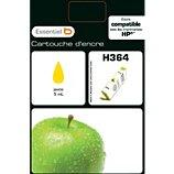 Cartouche d'encre Essentielb  H364 Jaune Série Pomme