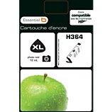 Cartouche d'encre Essentielb  H364 Noir Photo Série Pomme