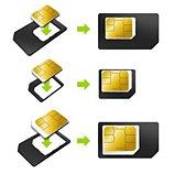 Adaptateur carte SIM Essentielb  Pack de 3 cartes Sim/Nano/Micro