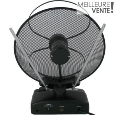 Antenne parabole happy achat boulanger for Antenne tv interieur