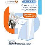 Ampoule Essentielb Ampoule refrigérateur 220V 15W E14