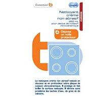 Crème lavante Essentielb crème vitroceramique 250 ml