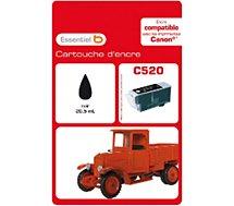 Cartouche d'encre Essentielb C520 Noire Série Camion