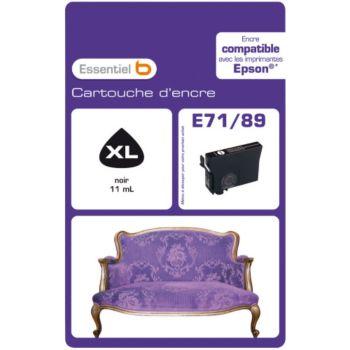 Essentielb E71/89 Noire Série Canapé