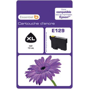 Essentielb E129 Noire Série Fleur
