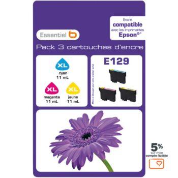 Essentielb E129 C/M/J Série Fleur