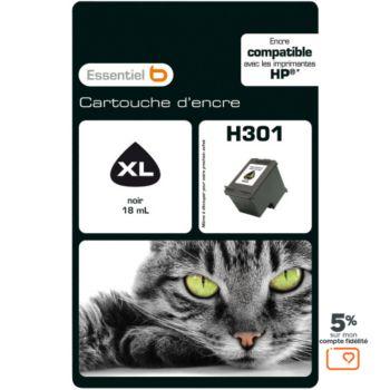Essentielb H301XL Noire Série Chat