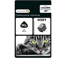 Cartouche d'encre Essentielb H301XL Noire Série Chat