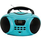 Radio CD Essentielb  Rumba USB MP3 Bleu