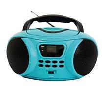 Radio CD Essentielb  Rumba USB MP3 Bleu