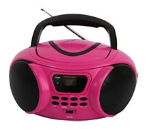 Radio CD Essentielb  Rumba USB MP3 Rose