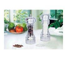 Moulin à poivre et sel Essentielb  acrylique Manuel - sel ou poivre 16cm