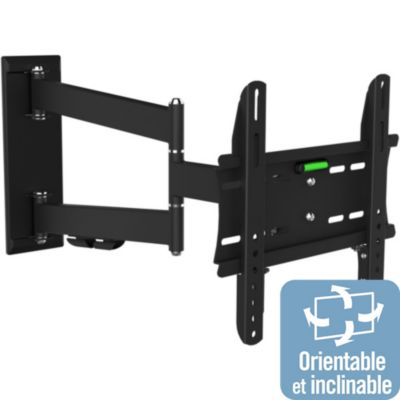 Support tv essentielb boulanger - Support tv 55 orientable ...