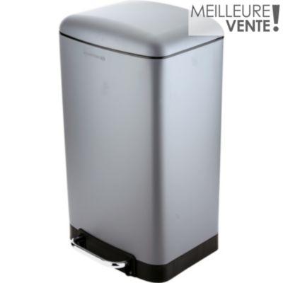 Poubelle cuisine retrait 1h en magasin boulanger - Poubelle cuisine 100 litres ...