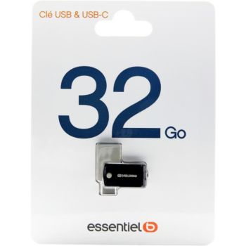 Essentielb USB C 32 Go
