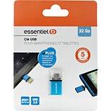 Clé OTG pour micro USB Essentielb  32 Go OTG