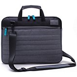 Sacoche Essentielb Carry 14' grise et turquoise