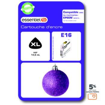 Essentielb E16 XL Noire - Série Boule de Noel