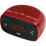Radio réveil Listo  RR-908 Rouge