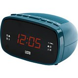 Radio réveil Listo  RR-908 Bleu