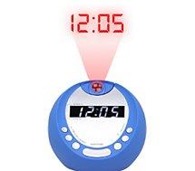 Radio réveil Essentielb  Get Up Bleu