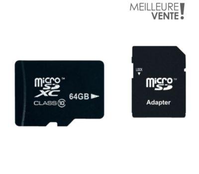 Carte Micro SD Essentielb MicroSDXC 64Go Loisir