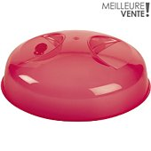 Cloche anti-projection Essentielb Rouge pour MO