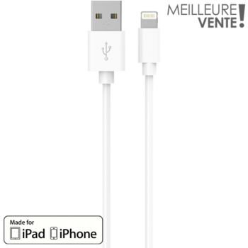 Essentielb 1M blanc certifié Apple