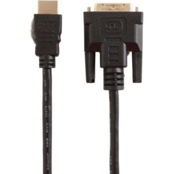 Essentielb 1M80 HDMI-DVI Mâle/Mâle
