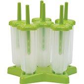 Moule à glace Essentielb 6 empreintes - vert