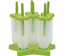 Moule à glaces Essentielb  6 empreintes - vert