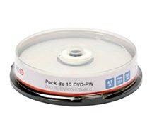 DVD vierge Essentielb 10 DVD+RW 16x Spindle