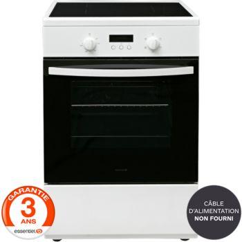 cuisinière induction essentielb eci601 blanc