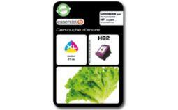 Cartouche d'encre Essentielb H62XL Couleurs Série Salade