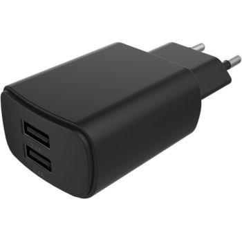 Essentielb 2 USB 4,8A - Noir