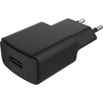 Essentielb USB 2,4A noir