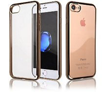 Coque Essentielb iPhone 7/8 souple contour gold
