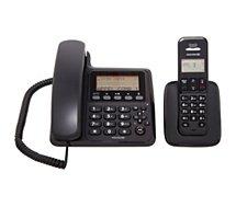 Téléphone filaire Essentielb  BI-EASY REPONDEUR NOIR