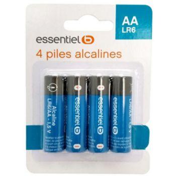 Essentielb 4 AA Alcaline LR06