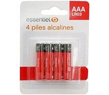 Pile Essentielb 4 AAA Alcaline LR03